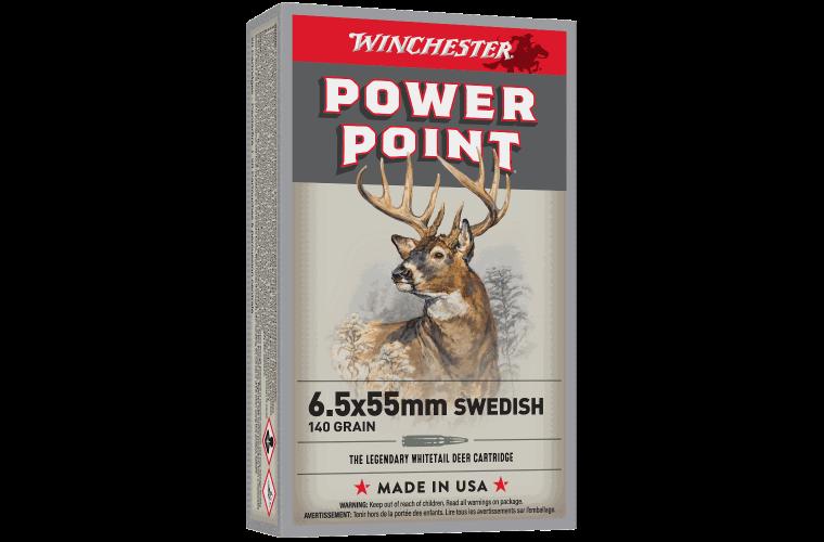 Winchester Super X 6.5x55 Swedish 140gr SP