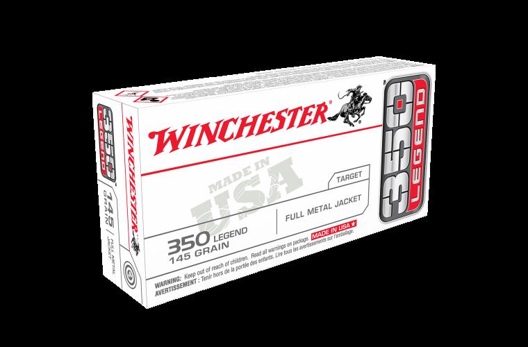 Winchester USA value pack 350 Legend 145gr FMJ