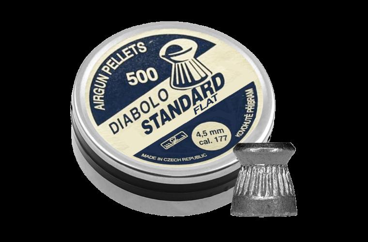 Diabolo Standard Flat .177 500pcs