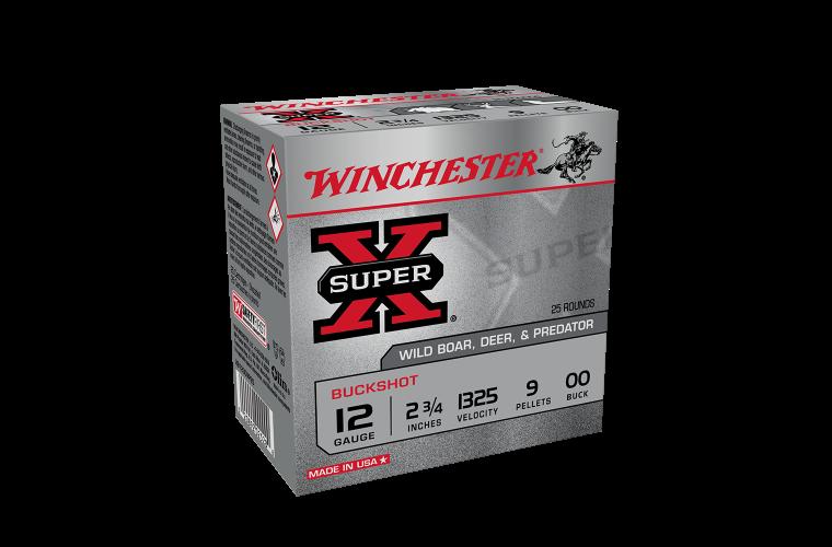 Winchester Buckshot 12G OO Buck 2-3/4
