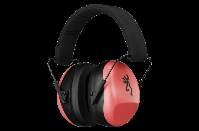 Browning Buckmark II Ear Muffs Pink (26db)