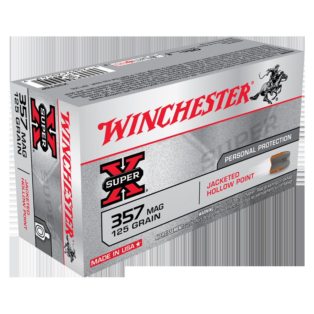 Winchester Super X 357Mag 125gr JHP