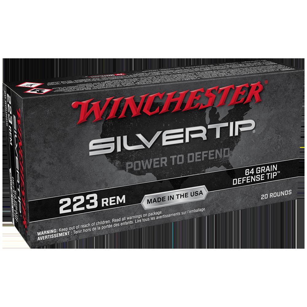 Winchester Silvertip-Defense Tip 223Rem 64gr