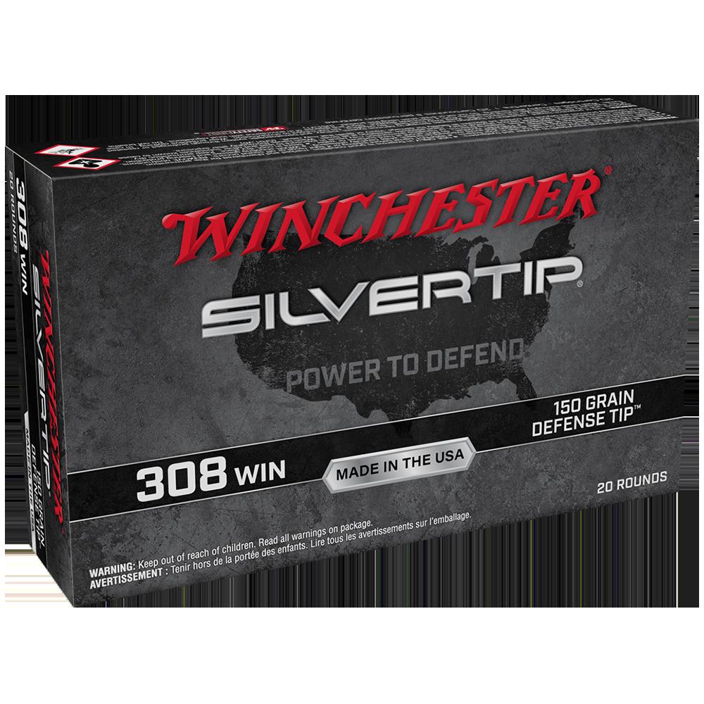 Winchester Silvertip-Defense Tip 308Win 150gr