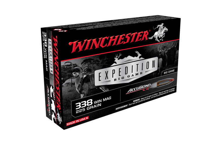 Winchester Expedition Big Game 338WM 225gr ABCT