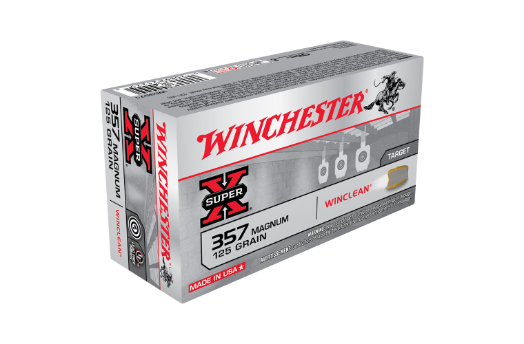 Winchester Super Clean 357Mag 125gr JFP