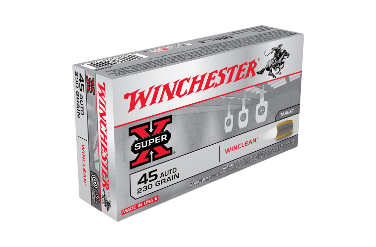 Winchester Super Clean 45 Auto 230gr BEB