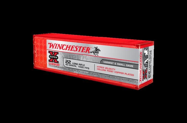 Winchester Super X Hyper Velocity 22LR 40gr HPCP