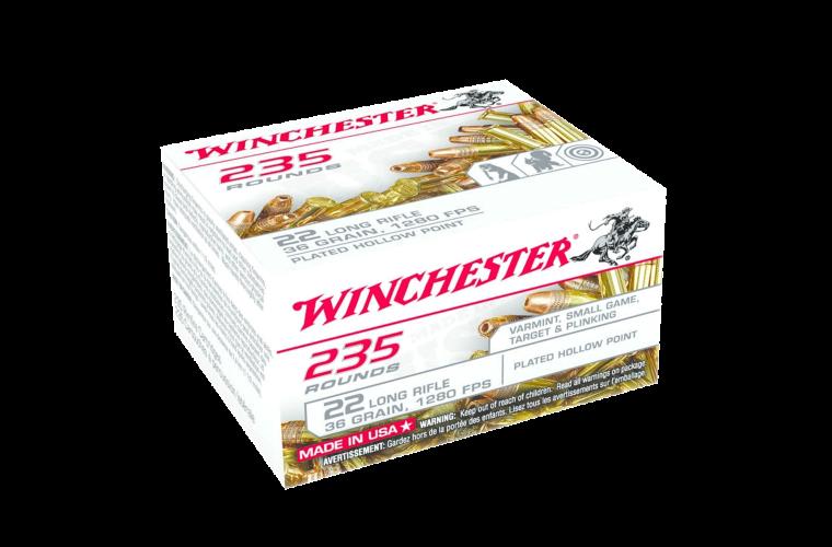 Winchester USA 235 22LR 36gr CPHP