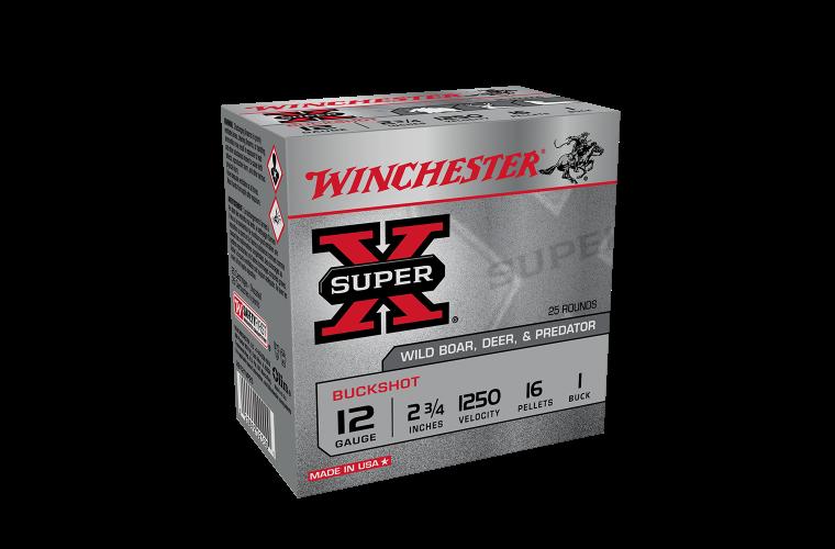 Winchester Buckshot 12G 1Buck 2-3/4
