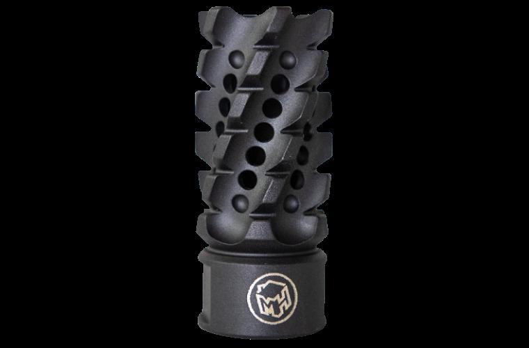 Madhouse Design XHC Black Helix 308W Muzzle Brake