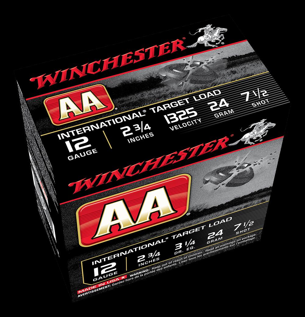 Winchester AA International 12G 7.5 2-3/4