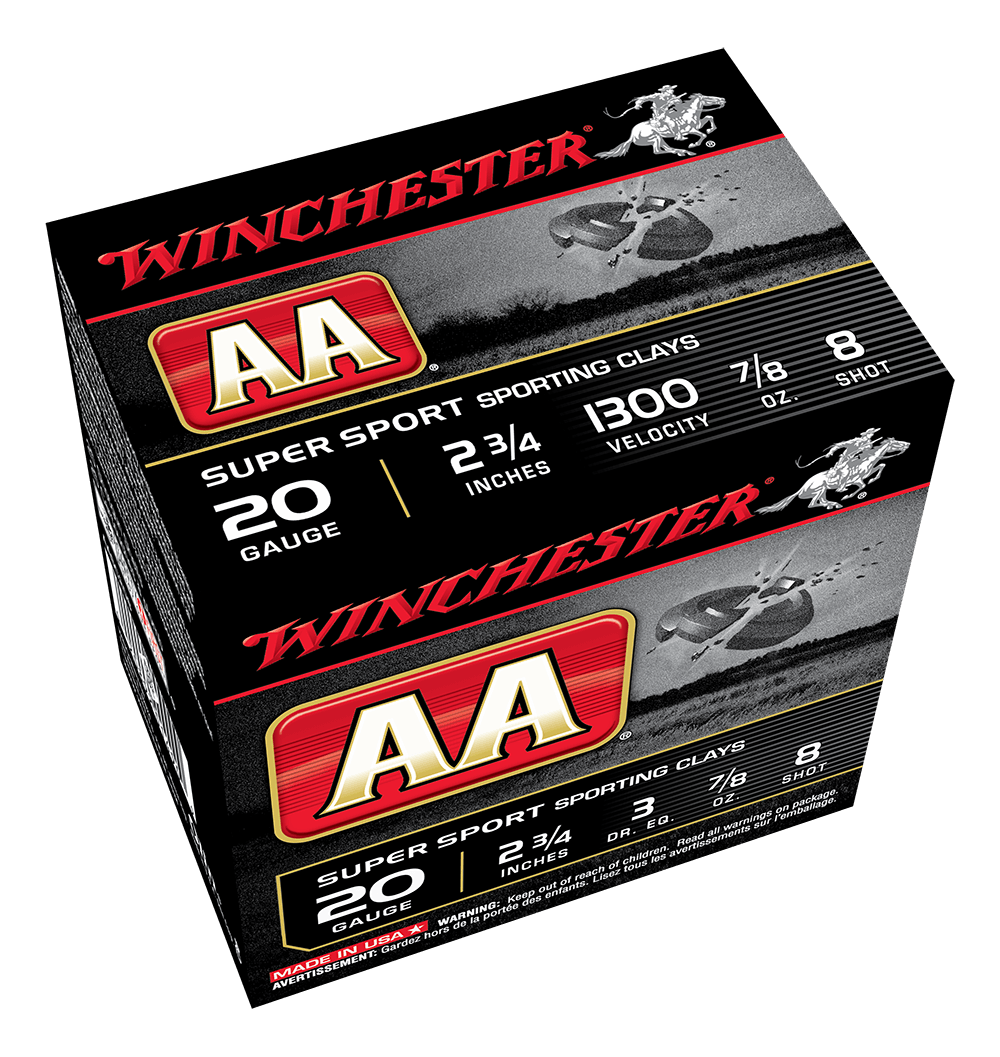 Winchester AA Super Sporting 20G 8 2-3/4