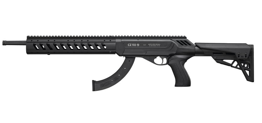 CZ 512 Tactical Semi Auto 22WMR 10rnd mag