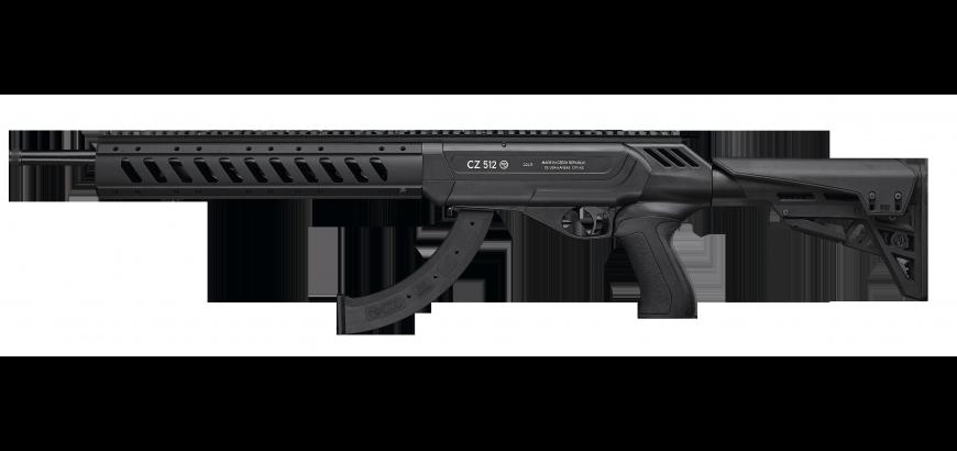 CZ 512 Tactical Semi Auto 22LR 10rnd mag