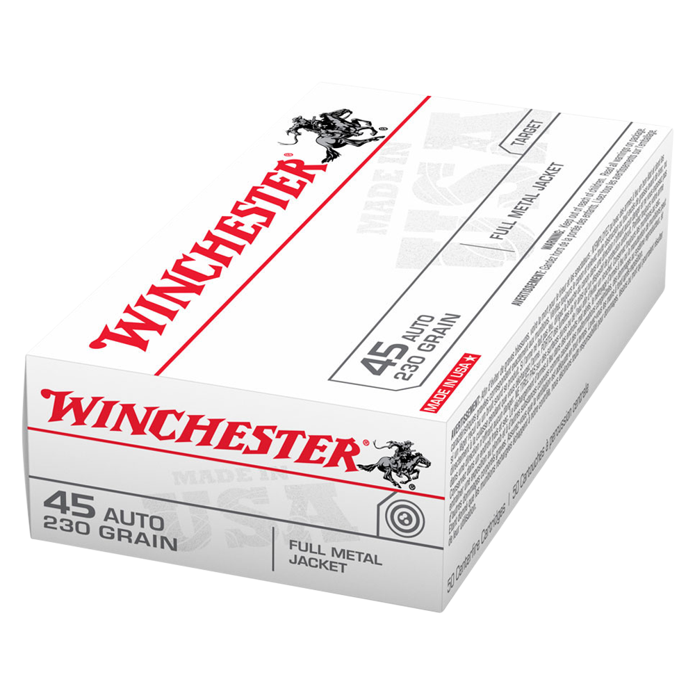 Winchester USA value pack 45 Auto 230gr FMJ
