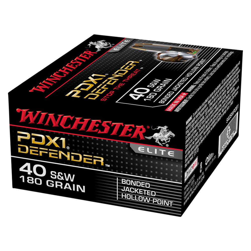 Winchester PDX1 40S&W 180gr Bonded