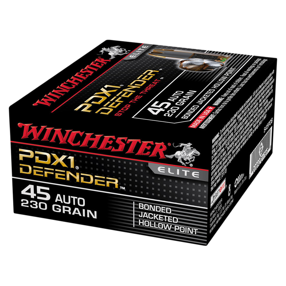 Winchester PDX1 45 Auto 230gr Bonded