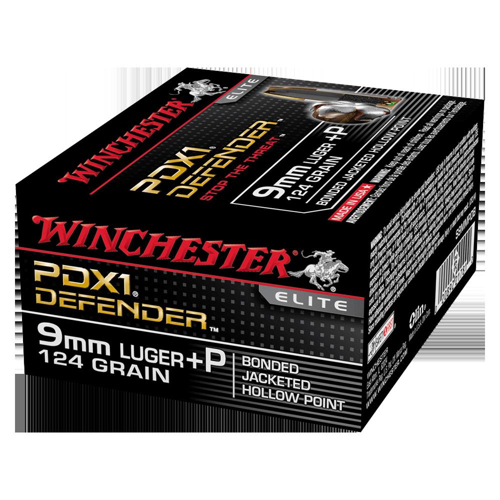 Winchester PDX1 9mm 124gr Bonded