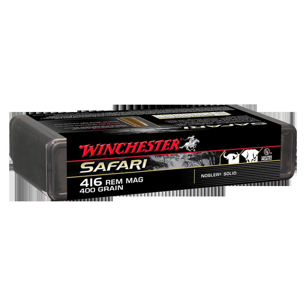 Winchester Supreme 416Rem 400gr Nosler solid LF