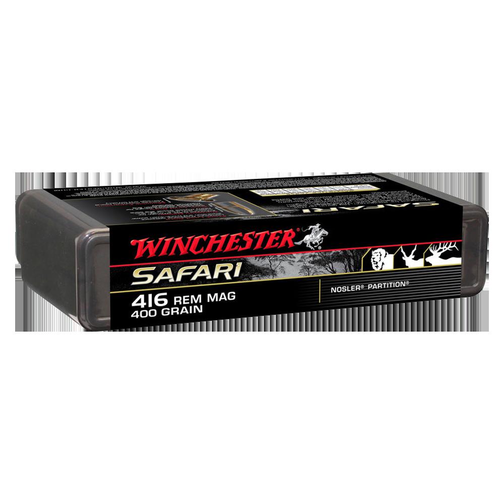 Winchester Supreme 416Rem 400gr Nosler partition