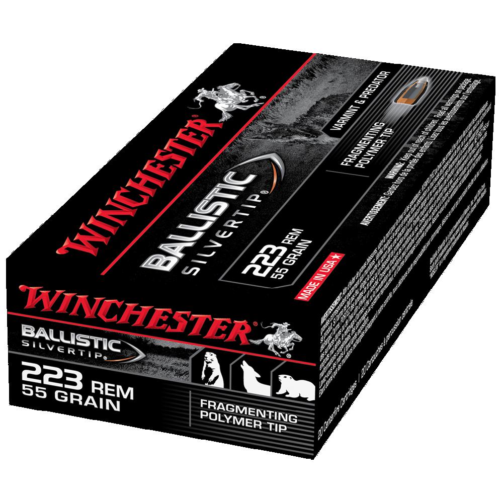 Winchester Ballistic ST 223Rem 55gr PT