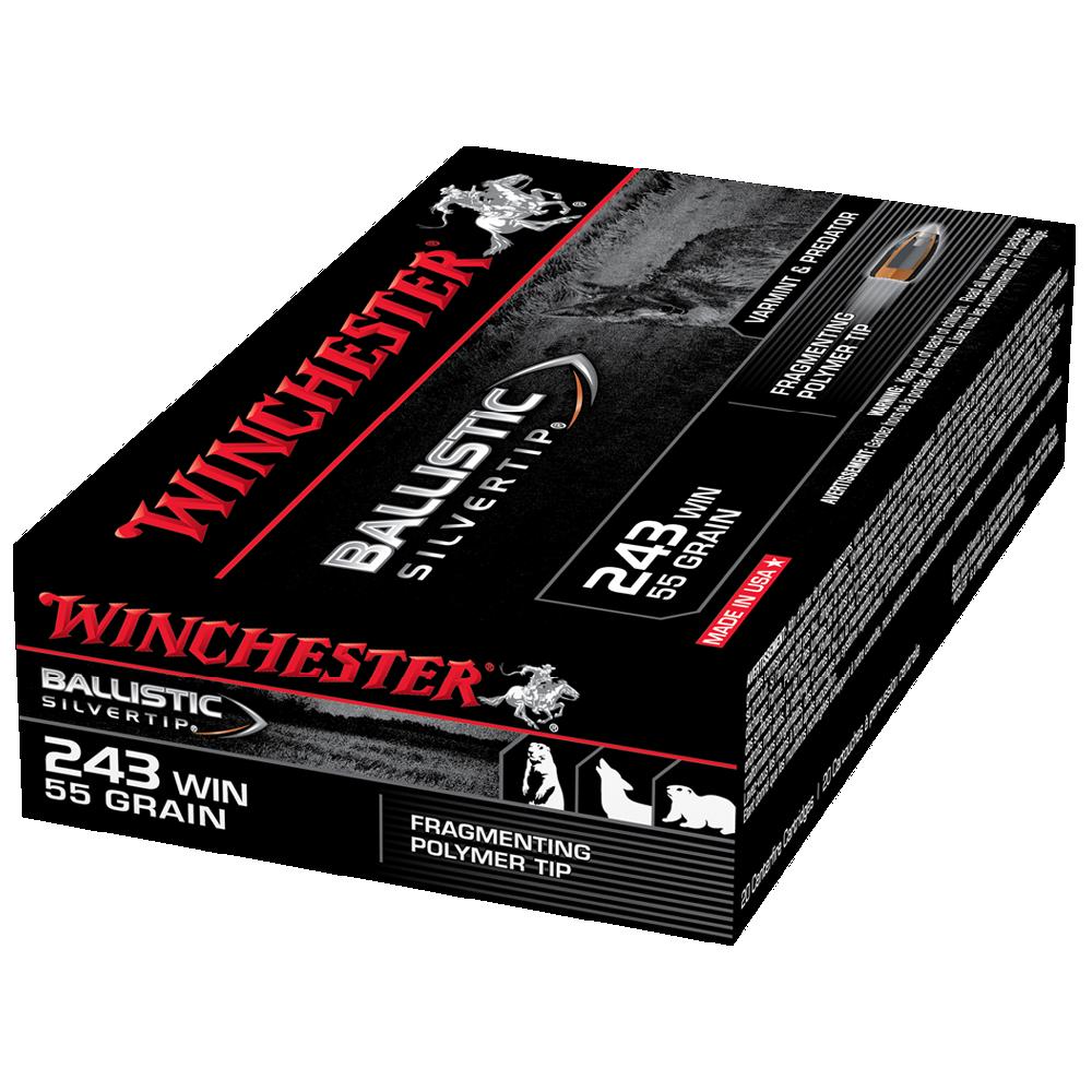 Winchester Ballistic ST 243W 55gr PT