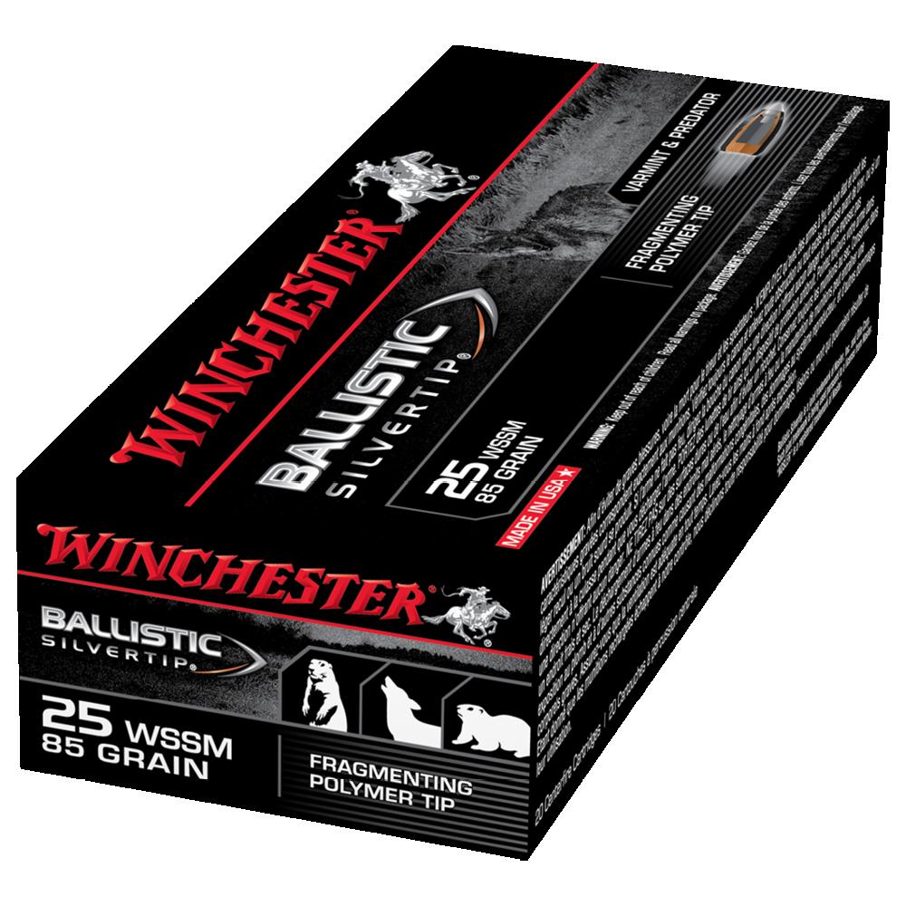 Winchester Ballistic ST 25WSSM 85gr PT