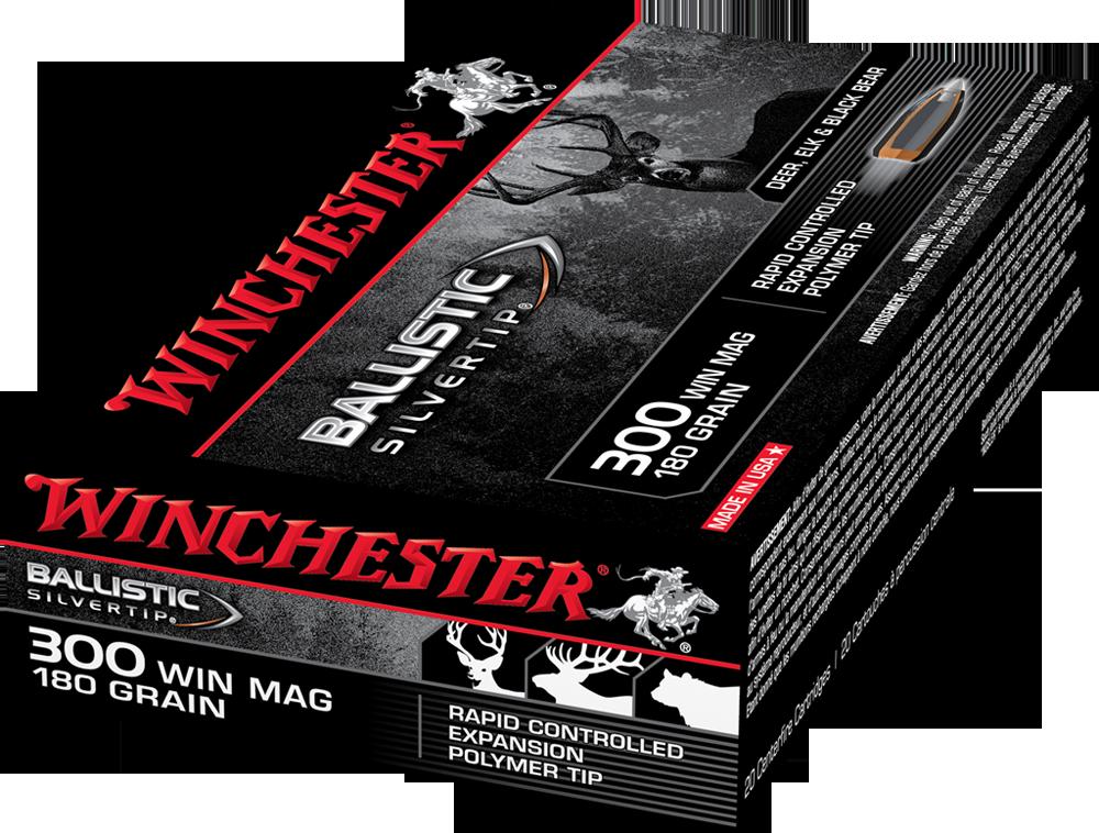 Winchester Ballistic ST 300WM 180gr PT