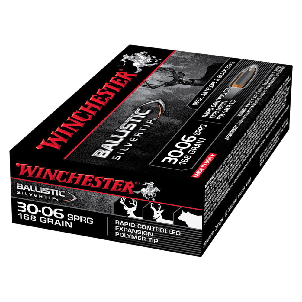 Winchester Ballistic ST 30-06Sprg 168gr PT