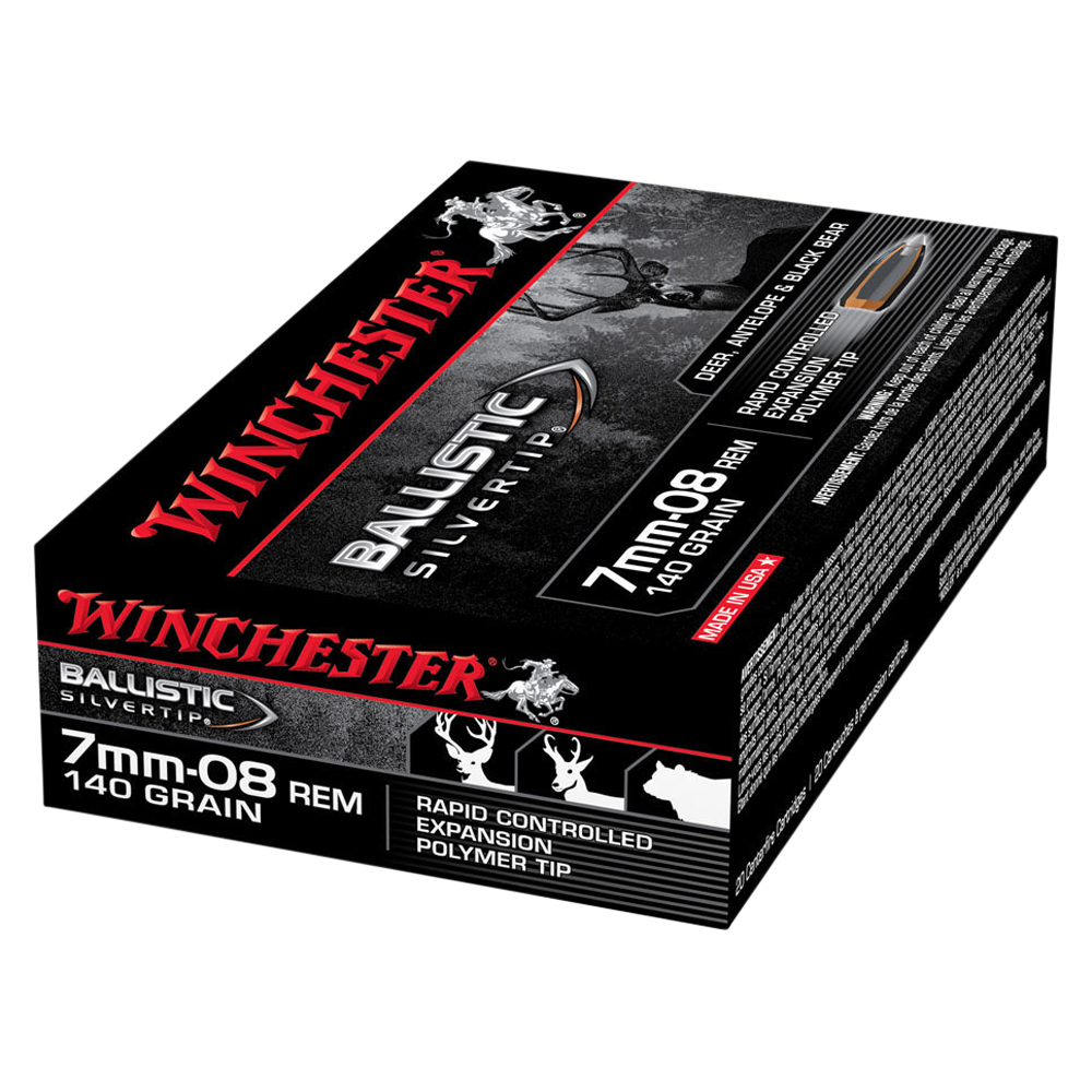 Winchester Ballistic ST 7MM-08 140gr PT