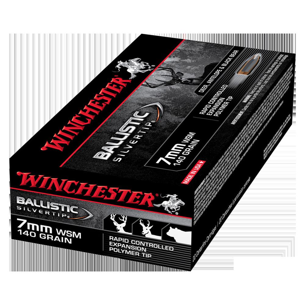 Winchester Ballistic ST 7MMWSM 140gr PT