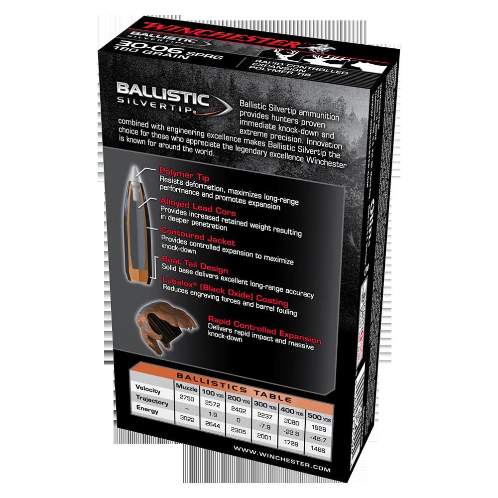 Winchester Ballistic ST 30-06Sprg 180gr PT