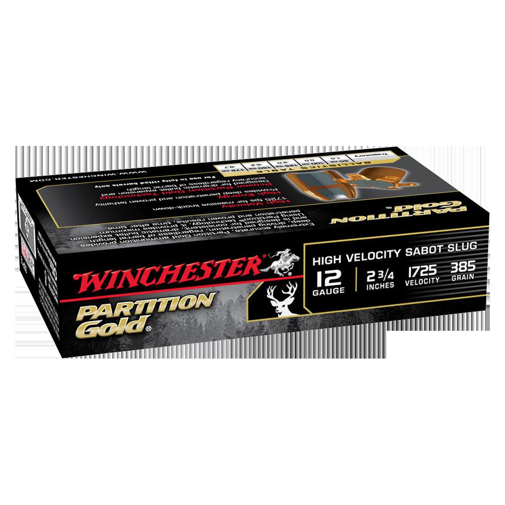 Winchester Supreme Partition Gold 12G slug 2-3/4
