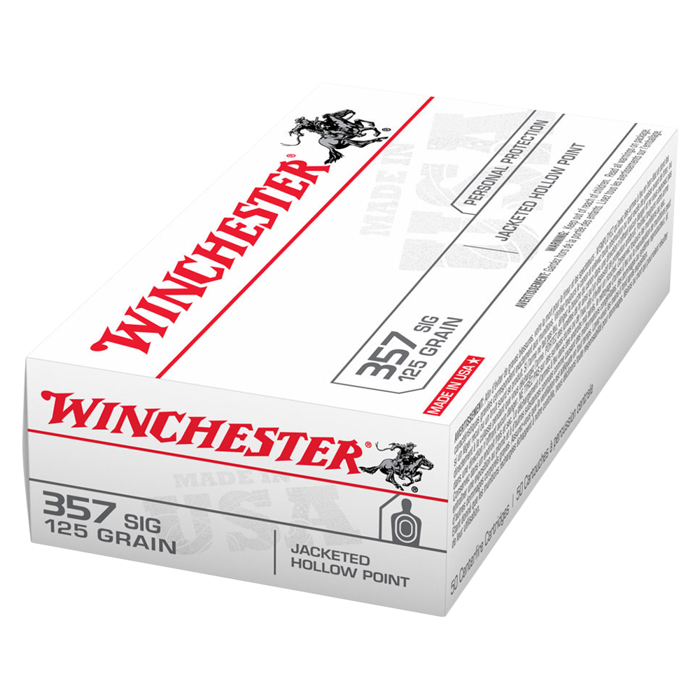 Winchester USA value pack 357Sig 125gr JHP
