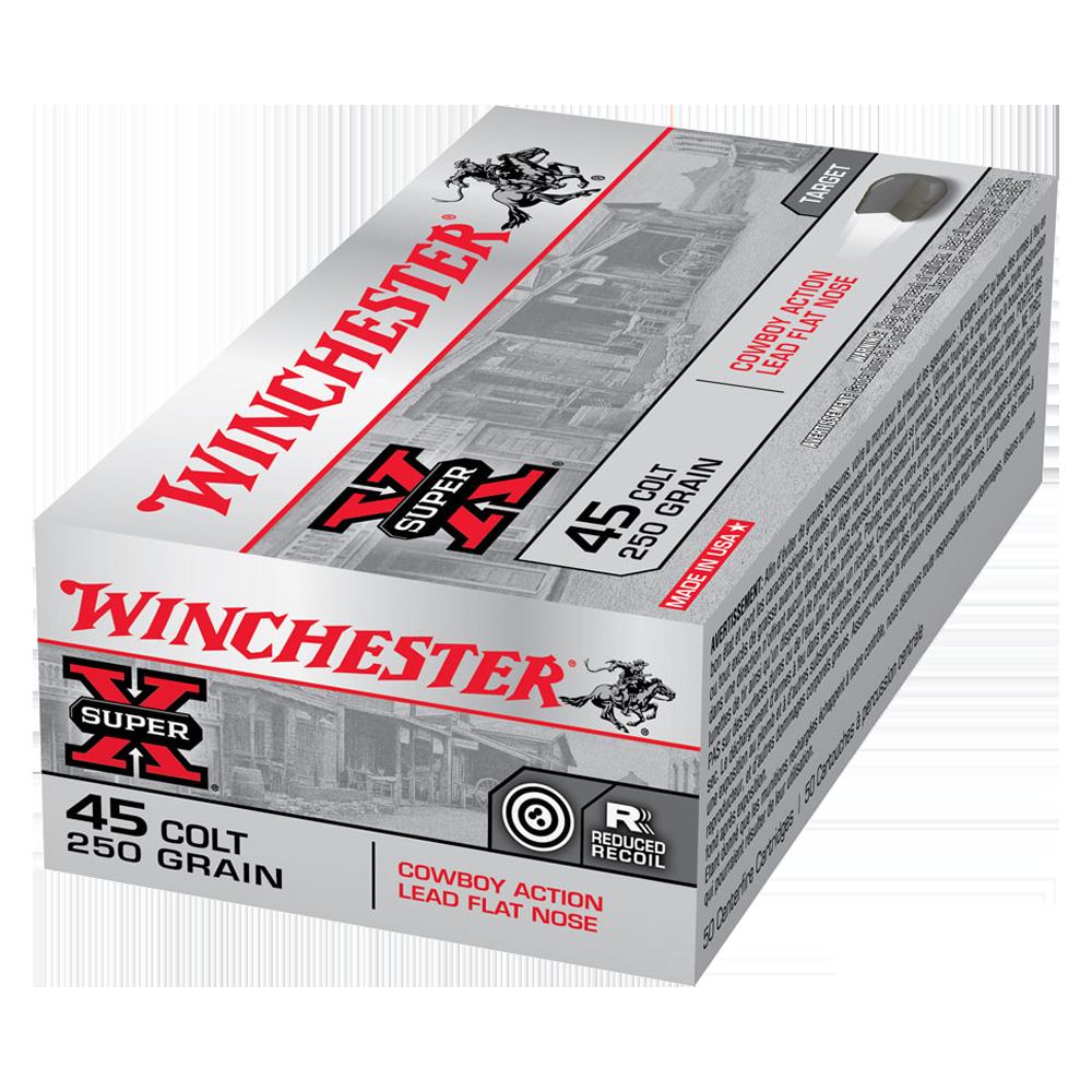 Winchester USA Cowboy 45 Colt 250gr Lead