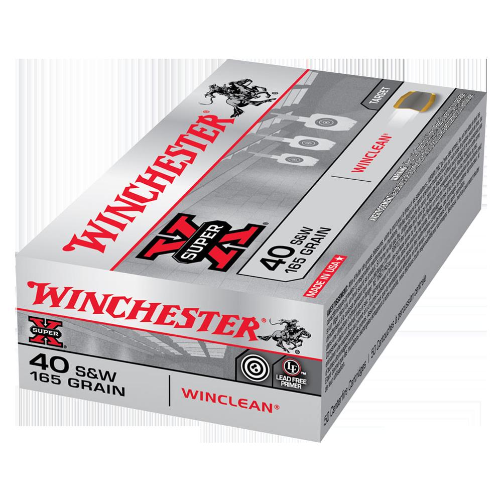 Winchester Super Clean 40S&W 165gr BEB