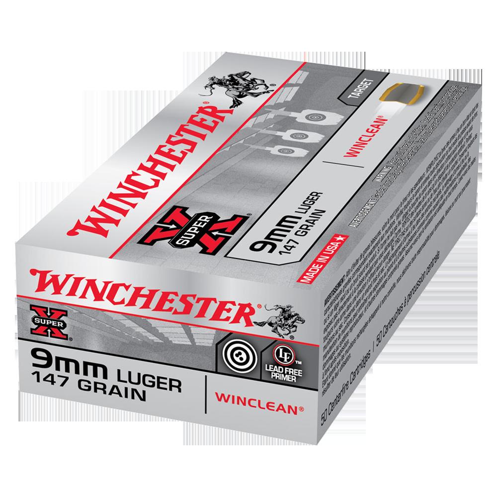 Winchester WinClean 9MM 147gr BEB