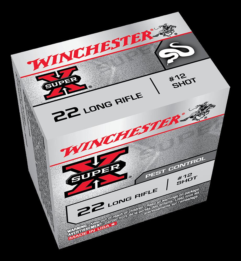 Winchester Super X Rat Shot 22LR 12 shot