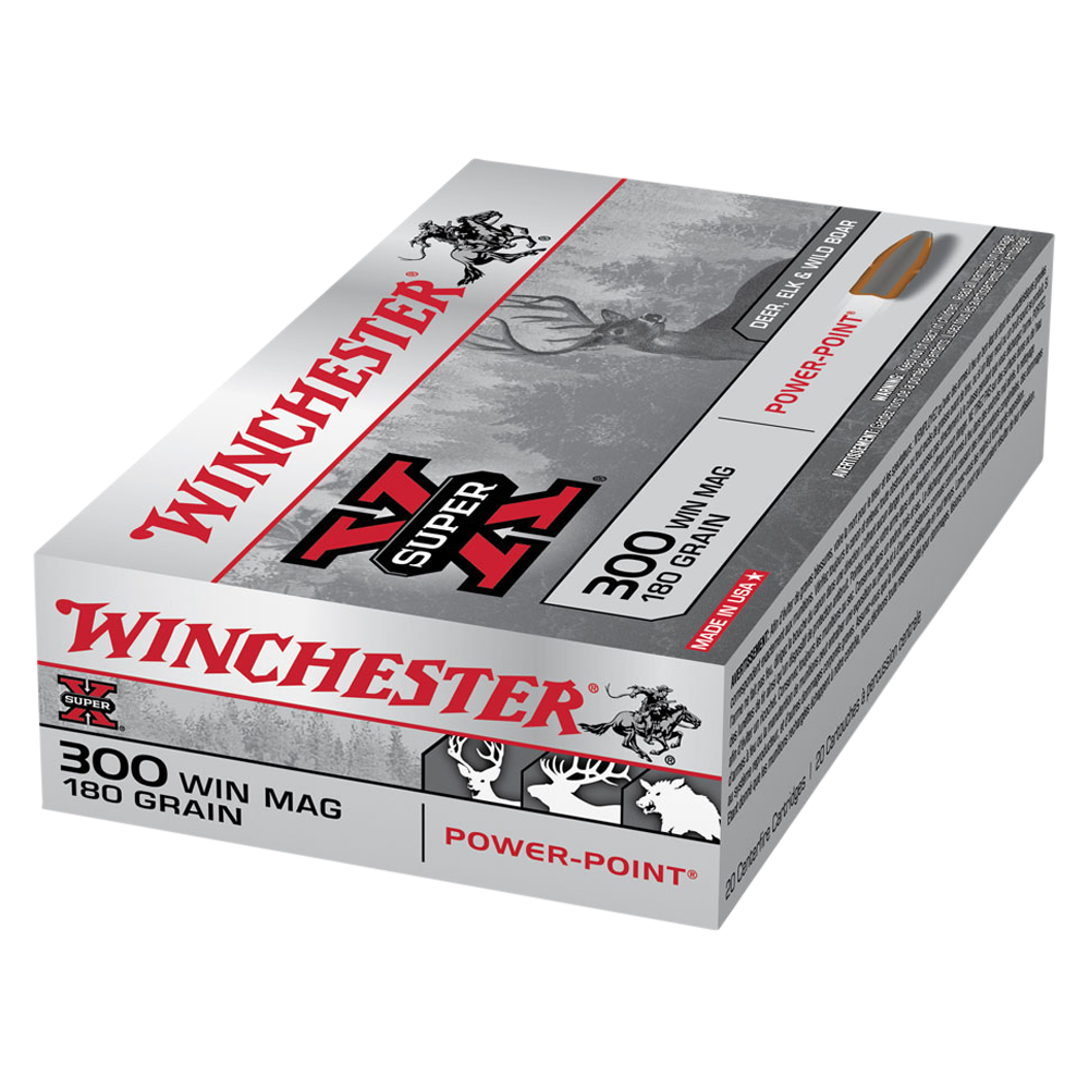 Winchester Super X 300WM 180gr PP