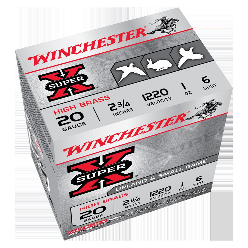 Winchester Super X 20G 6 2-3/4