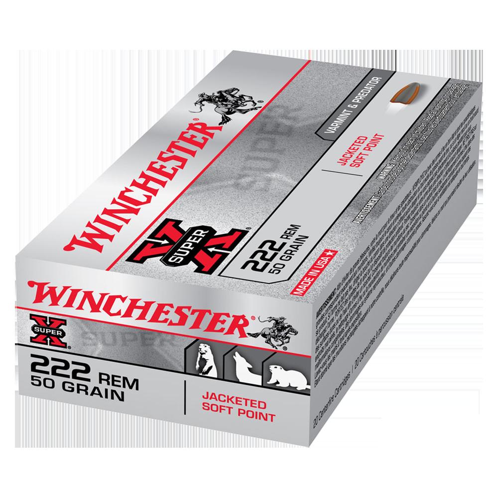 Winchester Super X 222Rem 50gr PSP