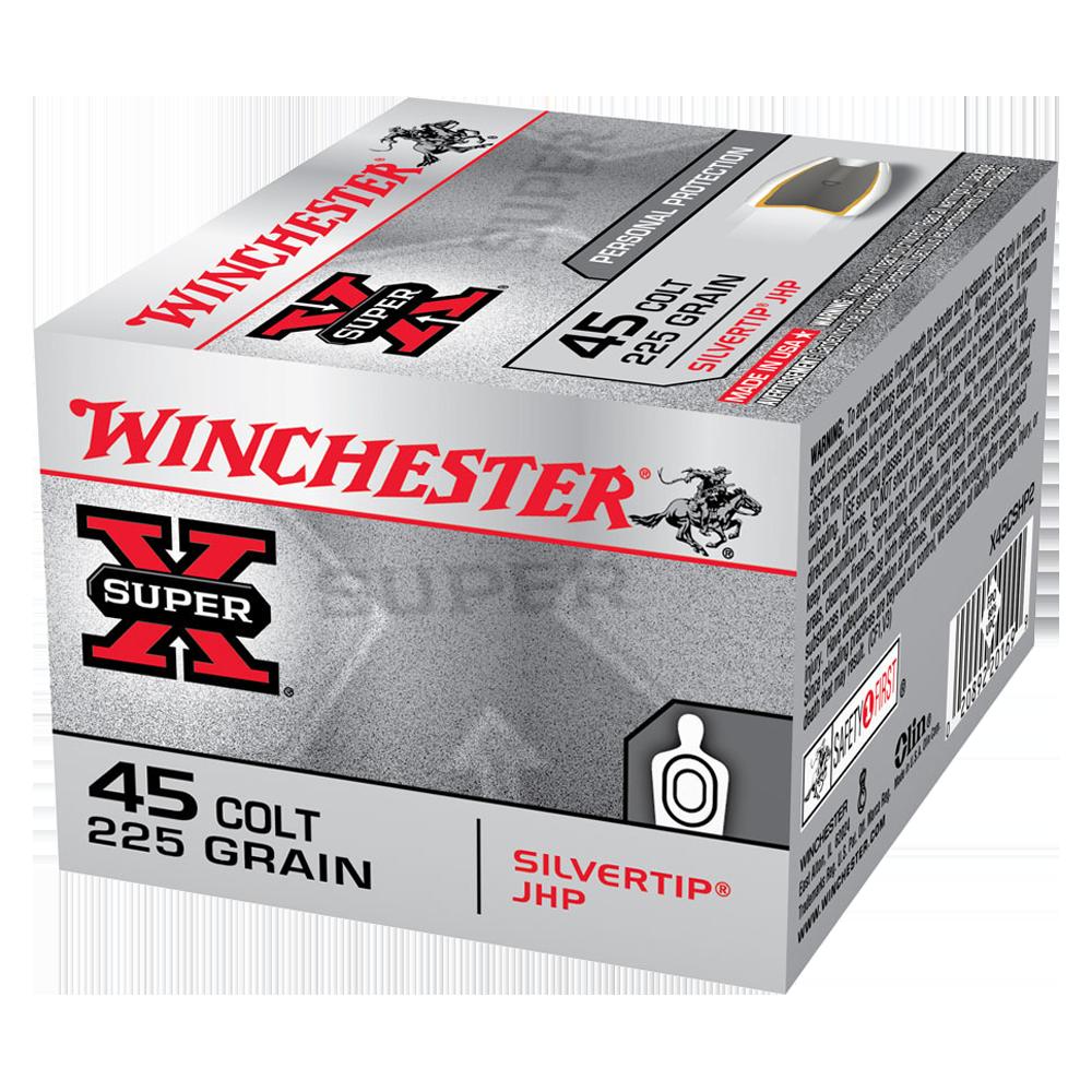 Winchester Super X 45 Colt 225gr STHP
