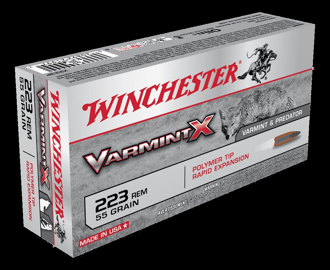 Winchester Varmint X 223Rem 55gr PT