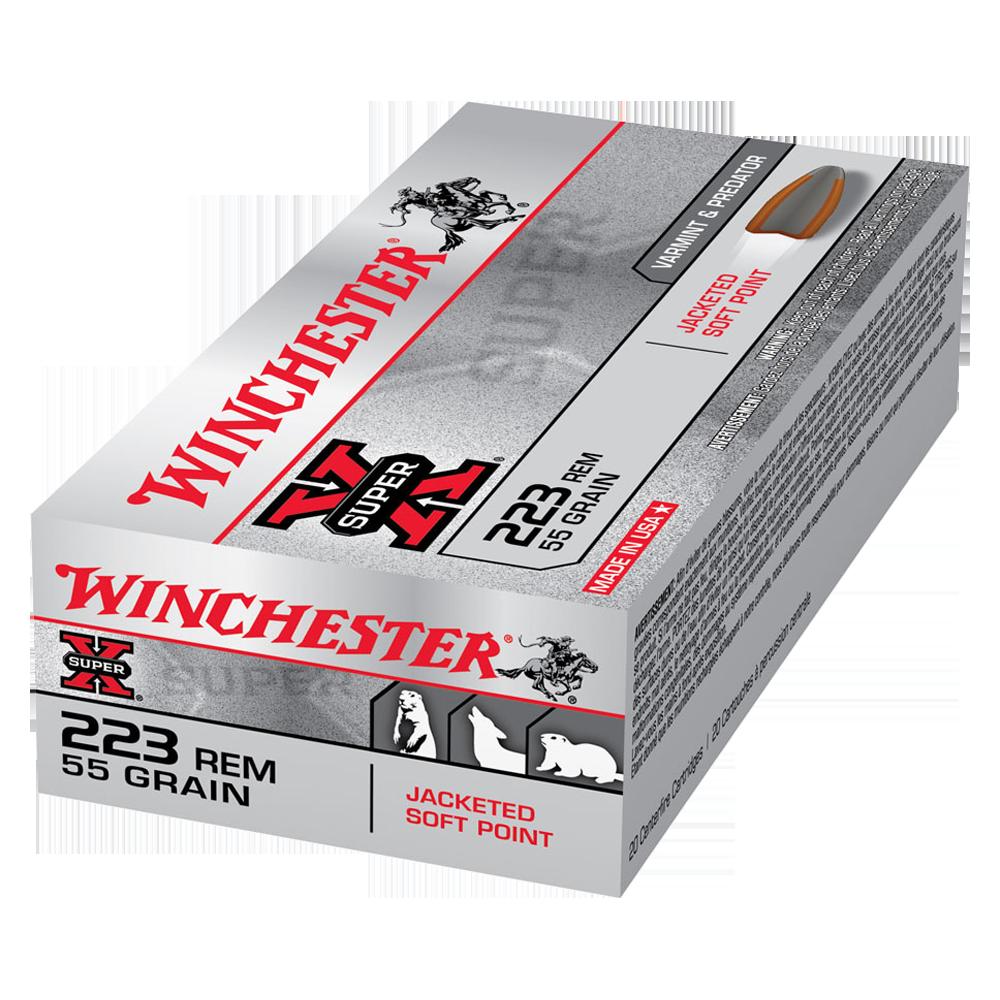 Winchester Super X 223Rem 55gr PSP