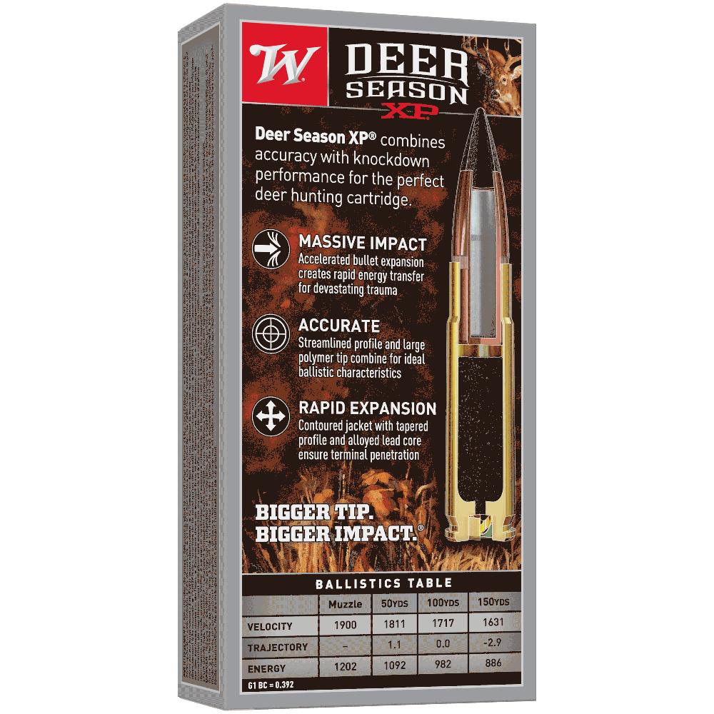 Winchester Deer Season 300 Black Out 150gr XP