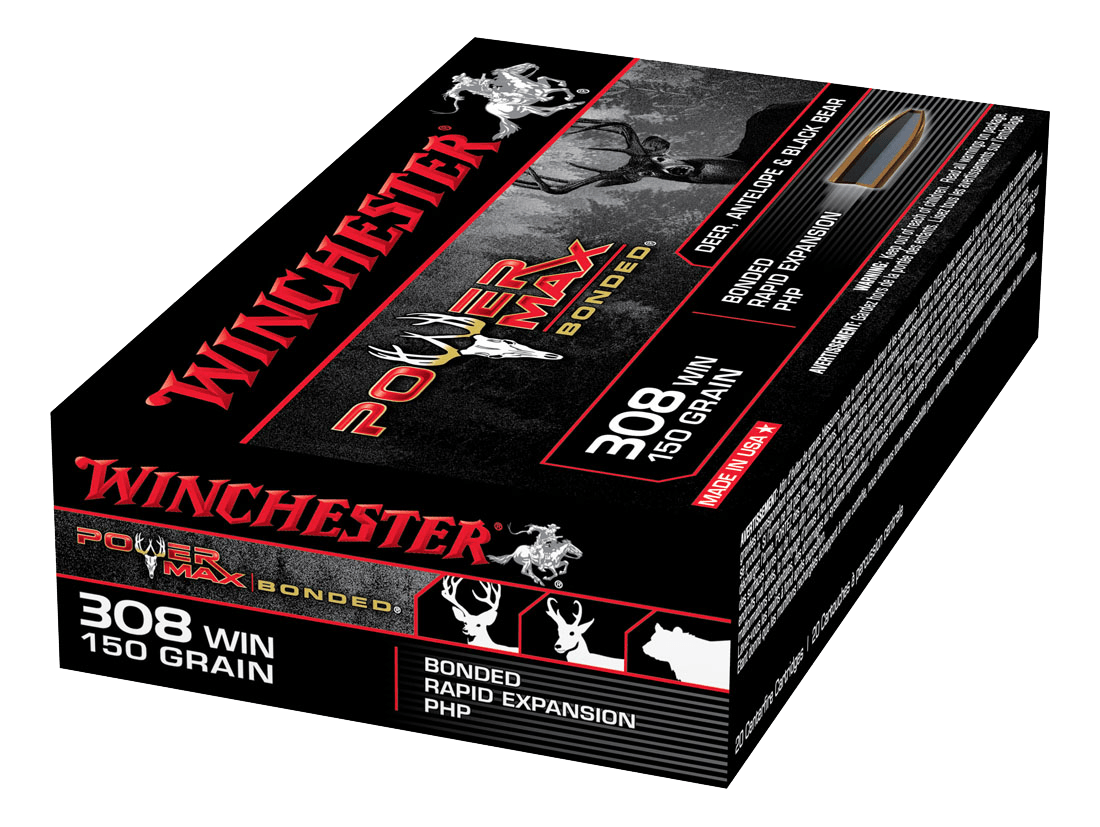 Winchester Power Max Bonded 308Win 150gr PHP