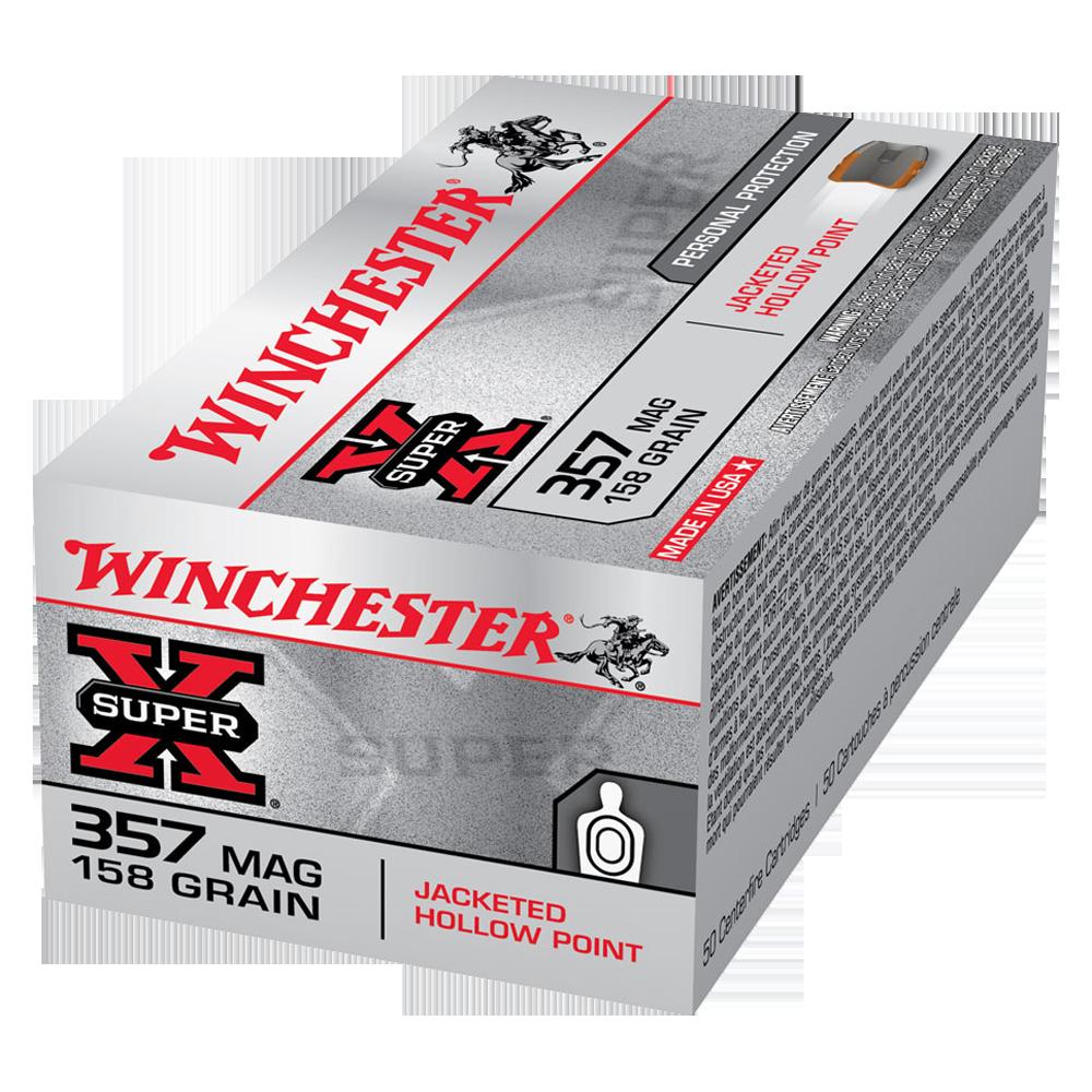 Winchester Super X 357Mag 158gr JHP