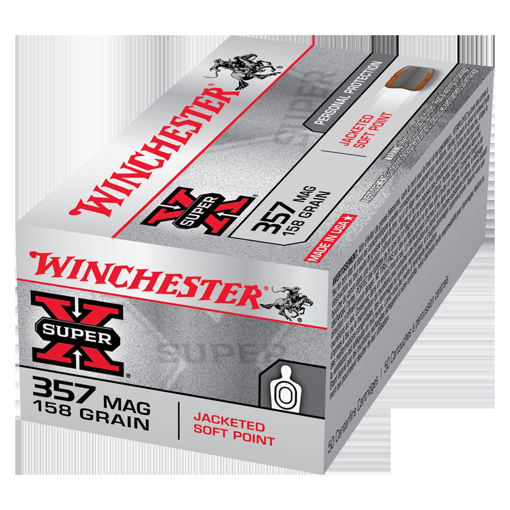 Winchester Super X 357Mag 158gr JSP