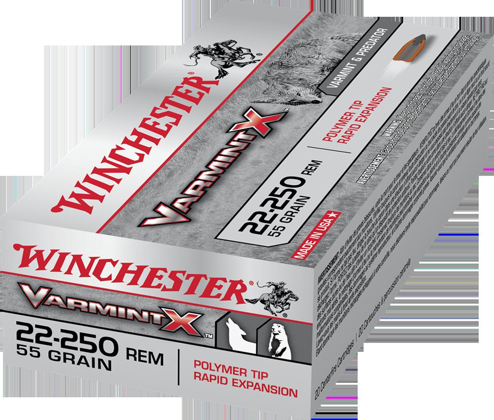 Winchester Varmint X 22-250Rem 55gr PT